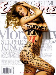 bar refaeli esquire magazine july 1
