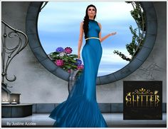 JUST-IN FASHION : *GLITTER* DANCE NIGHT EXCLUSIVE GOWN FOR SOLARIS*G...