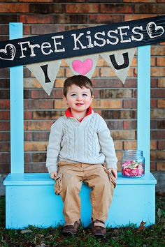 Rachel needs to do this with the boys Love my Valentine mini sessions this year!