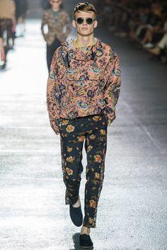 Dries Van Noten SS14, París Fashion Week.