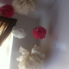 More pom poms. I love these things