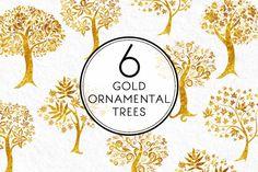 Ornamental Trees by Kaazuclip on Creative Market