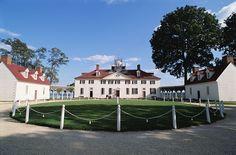 George Washington's home in Mt. Vernon, VA.