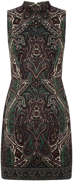 Pin for Later: The Best Winter Wedding-Guest Dresses For Under £50 Oasis Paisley Jacquard Dress Oasis Paisley Jacquard Dress (£35, originally £65)
