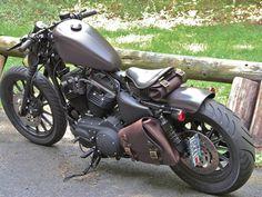 New Bobber Motorcycle Harley Davidson Iron 883 40 Ideas Vrod Harley, Harley Bobber, Bobber Motorcycle, Bobber Chopper, Cool Motorcycles, Harley Davidson Sportster, Harley Davidson Custom Bike, Sportster Iron, Iron 883 Bobber