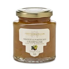 Fortnum & Mason Marmalade, Orange & Champagne, 200g
