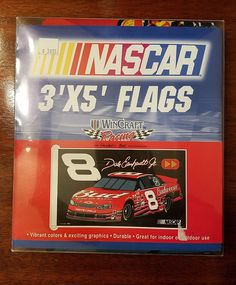 WinCraft Dale Earnhardt Jr. 3' x 5 Budweiswer #8 Flag - NASCAR New | Sports Mem, Cards & Fan Shop, Fan Apparel & Souvenirs, Racing-NASCAR | eBay!