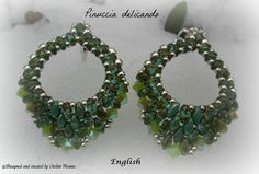 Earrings  Mini Rondo' Tutorial graphics pictures only in