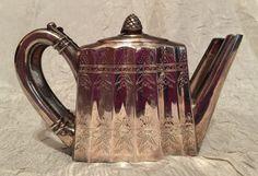 Vintage Godinger Silver Plated Tea Pot Napkin by ALABAMANANA