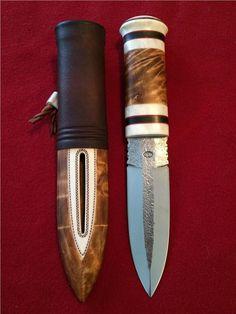 Dolk typ samekniv på Tradera.com - Knivar från Europa | Knivar | Knivar