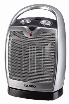 Lasko 5409 Oscillating Ceramic Tablet Portable Heater Ceramic Heater