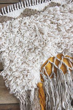 Weaving how to: Looped Rya   hello hydrangea