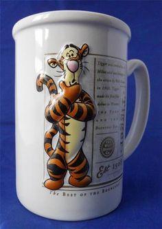 Disney Winnie The Pooh Tigger Coffee Mug 3D Best of The Bouncers