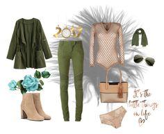"""Comfy and sexy"" by carolina-esquivel on Polyvore featuring moda, Balmain, Calvin Klein, Yves Saint Laurent y Simone Perele"