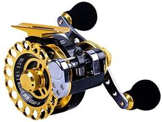 Ellen Archery Inline Ice Fishing Reel Right/Left in Line Ice Reel with 8+1 Ball Bearings