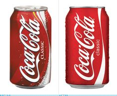 Coke - http://www.underconsideration.com/brandnew/archives/food/index.php?page=4