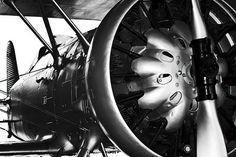 Üvegkép Plane - Engine