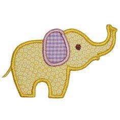 Chic Elephant Applique