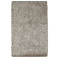 Buy Collection Silky Shaggy Deep Pile Rug - Champagne at Argos.co.uk - Your…