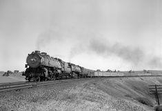 Mt 4, Union Pacific Railroad, Jazz Age, Steam Locomotive, Candid, Trains, American, Train