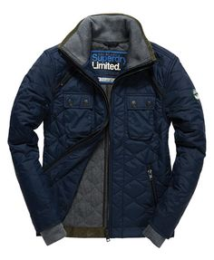 Superdry Nylon Polar Quilt Jacket
