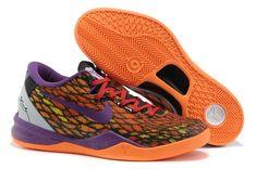 pretty nice 6e67d b290c Wholesale Discount Year Of The Snake Nike Zoom Kobe VIII 555035 033 Orange  Purple Basketball Shoes Store