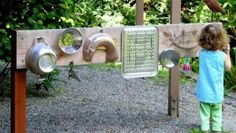 DIY Outdoor Music Wall