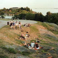 Summer 2010 in Helsinki.