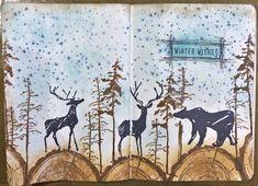 jehkotar: Stamp On Your Art Journal # 8