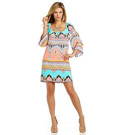 Gibson & Latimer Moroccan Dress   Dillard's Mobile