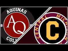 Central Michigan DII Hockey vs Aquinas College October 8th - YouTube