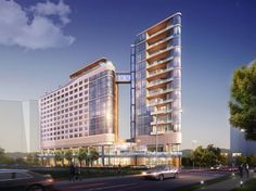 First rendering of Nashville's Virgin Hotel set to open Fall 2016!