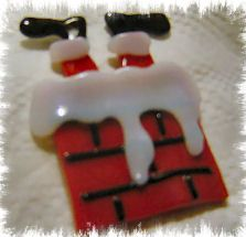 fused christmas ornaments | glass fusing ornaments, fused glass Christmas pins