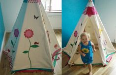 Childrens teepee by wildthingsdresses,