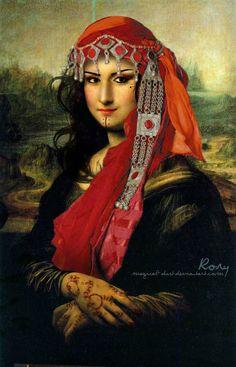 Arabian Mona Lisa by Magical-Dust on DevianArt