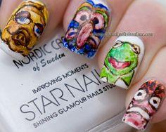 The Muppets Nail Art