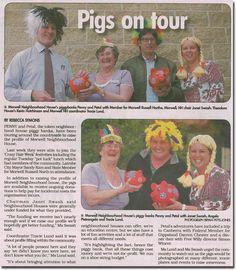 Pigs On Tour - http://morwellnh.org.au/pigs-on-tour/