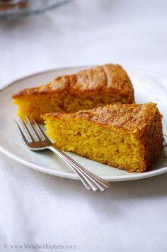 Vegan Mango Cake ~ Eggless Mango Cake Recipe ~ Step by Step Pictures
