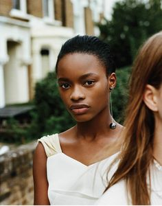 two for the road: mayowa nicholas and julie hoomans by matteo montanari for wsj january 2016 | visual optimism; fashion editorials, shows, campaigns & more!