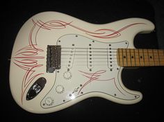Pinstriped Strat