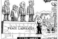 Zapiro: SA's four peace laureates - Mail & Guardian