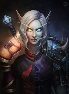 World of Warcraft Art — Blood Elf Fae'rin Sundragon [Artist: bearcub. World Of Warcraft Game, World Of Warcraft Characters, Warcraft Art, Fantasy Characters, Female Characters, Beautiful Fantasy Art, Dark Fantasy Art, Fantasy Artwork, Elf Tattoo