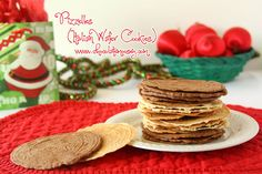 Pizzelles (Italian Wafer Cookies) #SundaySupper