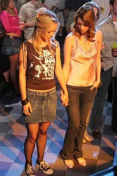 Fishnets. Which were a bit too sexy for your mom's taste. | 27 Forgotten Early 2000s Fashion Trends