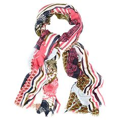 Buy White Stuff Oriental Placement Print Scarf, Multi Online at johnlewis.com