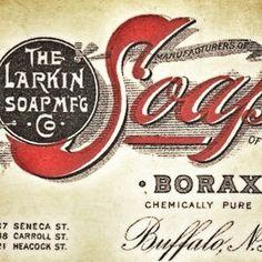 Larkin Soap. #typhunter #vintagebrand #oldtype | Flickr - Photo Sharing!