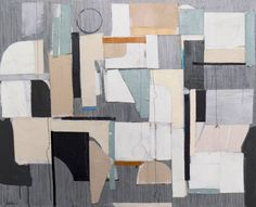 """Saatchi Art Artist Susan Washington; Collage, """"Midnight on the Dock of the Bay"""" - Featured on 6 Times Orlando, Justina & Emily Pulled it All Together with Art - http://canvas.saatchiart.com/decor/inspiration/6-times-orlando-justina-emily-pulled-it-all-together-with-art"""