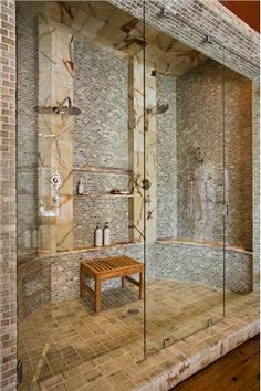 Master bathroom - shower idea.