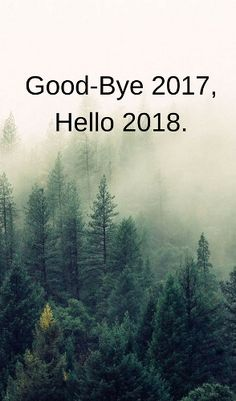 Good bye 2017 welcome 2018 happy new year quotes wishes. Many people await New Year's Day to make a new start to their old habits. I wish you otherwise. Happy New Year.