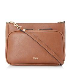 f4a940697b6 DORREA - Zip Pocket Cross Body Bag